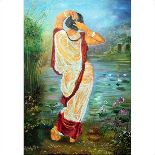 Ablution Oil Canvas
