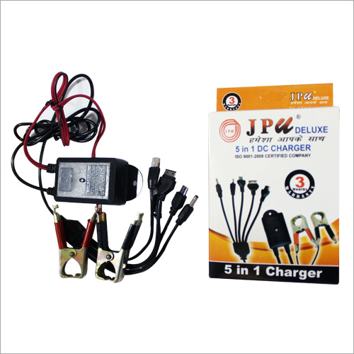 5 in 1  DC mobile Charger
