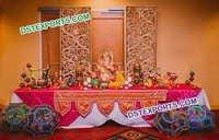 Indian Wedding Rajasthani Ganesha Decoration