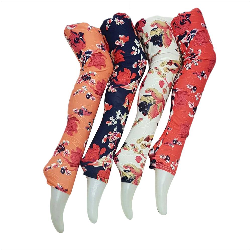 Ladies Floral Print Leggings
