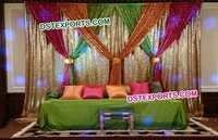 Colourful Wedding Backdrop Curtain