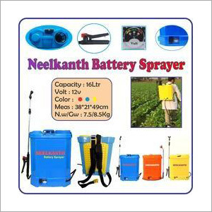 Battery Sprayer Pump