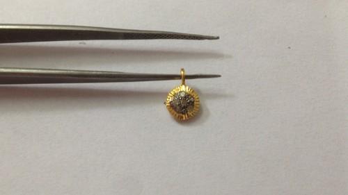 Diamond Round Pendant