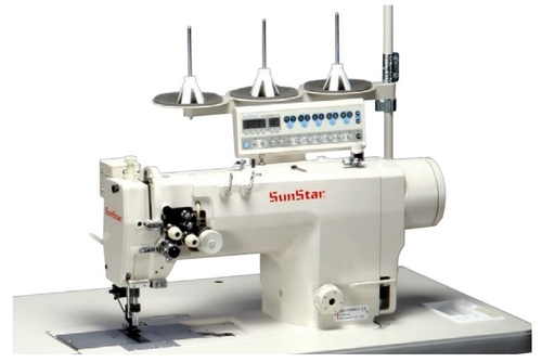 Direct Drive,High-speed,2-needle, Needle Feed Machine with an Automatic Thread Trimmer