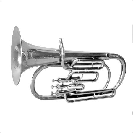 Alto Horn Chrome Plated