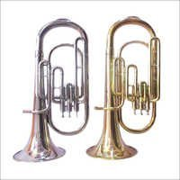 Alto Horn Brass And Chrome Plated