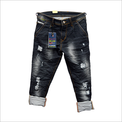 Rugged Denim Jeans