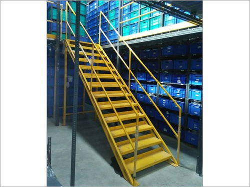 Stair Mezzanine Storage rack