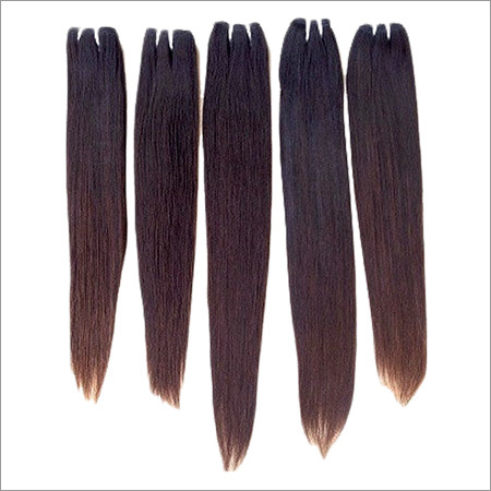 Natural Straight South Indian Raw Hair