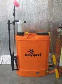 Double Motor Battery And Manual Sprayer