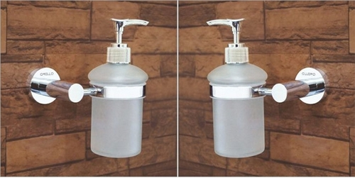 Brass Foam Dispenser With Holder
