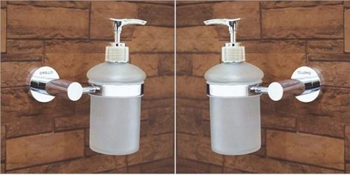 Brass Foam Dispenser With Holder