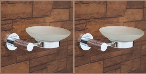 Chrome Plated Soap Dish Holder