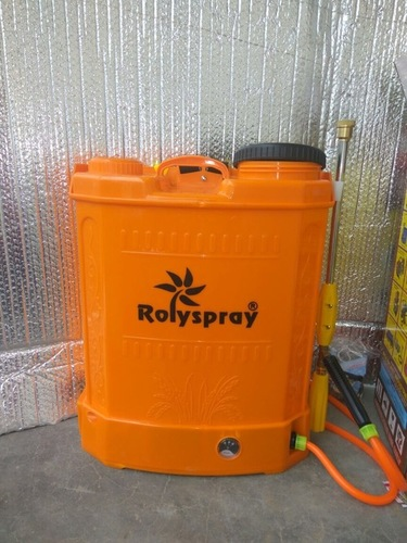 DOUBLE PUMP BATTERY SPRAYER