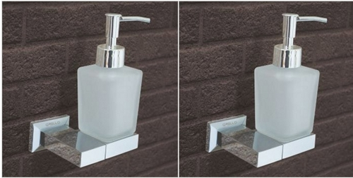 Wall Fixed Soap Dispenser in Brass