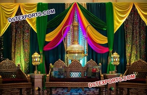 Colourful Wedding Sofa Set