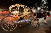 Beautiful Bridal Wedding Horse Carriage