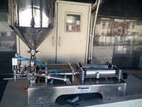 2 Head Pneumatic Paste Filler