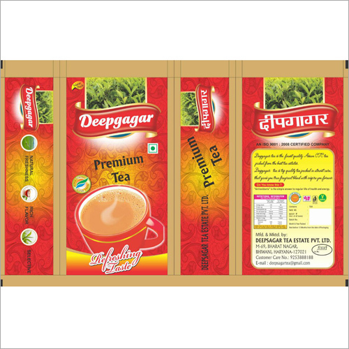 Premium Tea Packaging Pouches