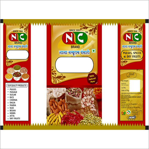 Dry Fruits Packaging Pouches