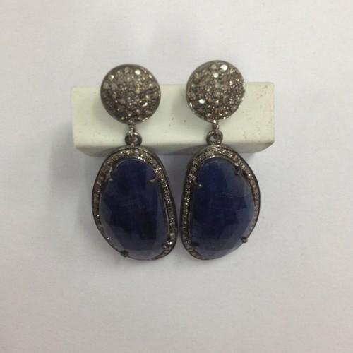 Earring Sapphire