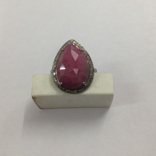 Ring Ruby Diamond