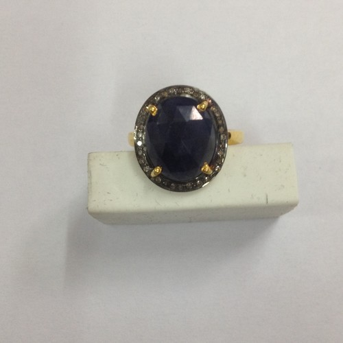 Ring Sapphire Diamond