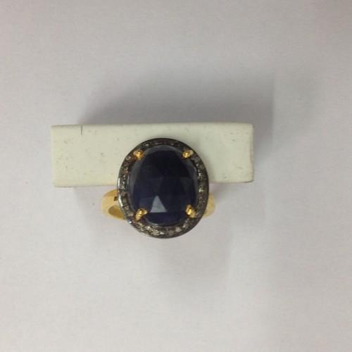 Sapphire Daimond Ring