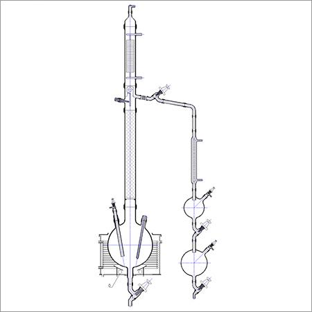 Fraction Distillation Unit