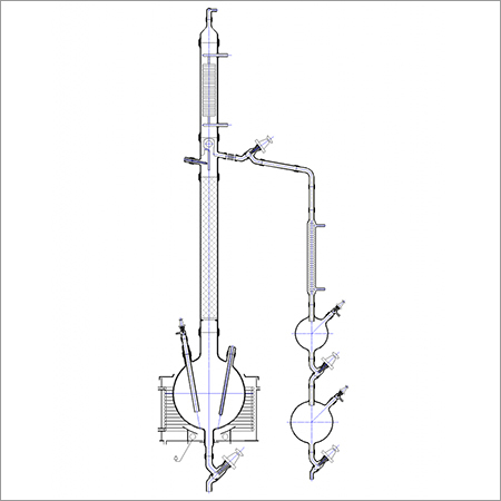 Fraction Distillation Unit