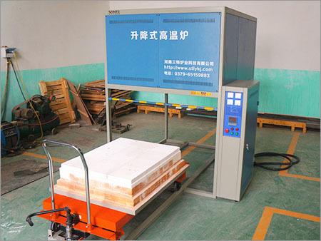 1200 °C Cart Type Lift Furnace