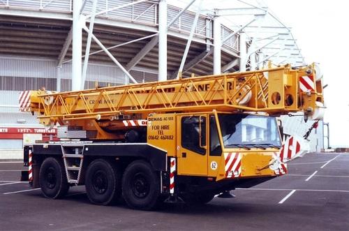 Terrain Crane Rental Services