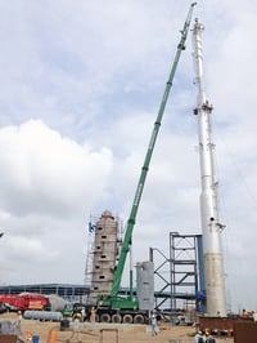 Telescopic Truck Crane Services