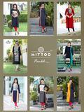 ladies flavour Presents rayon digital prints kurtis
