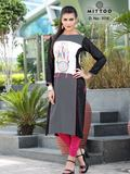 rayon digital prints kurtis