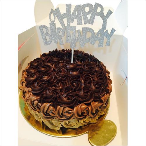 Chocolate Truffle Roissete Mouse Cake
