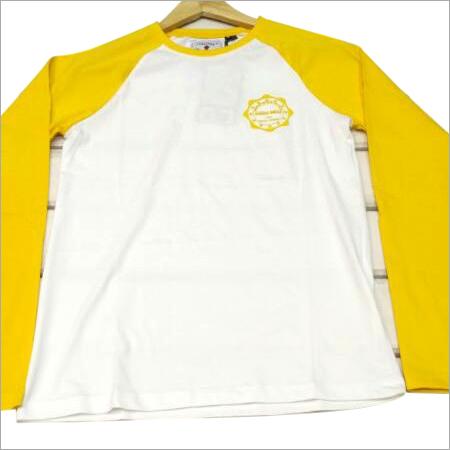 Round Neck  Full T-Shirt
