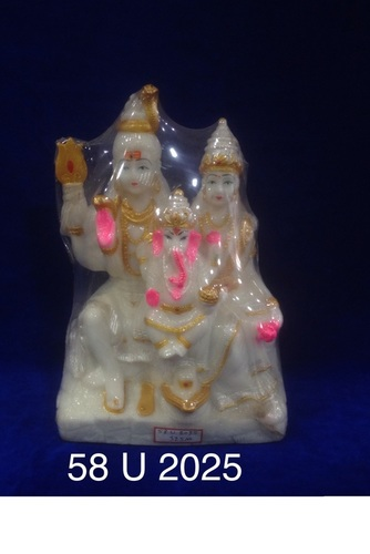 Night Glow Shiv Parivar Idol