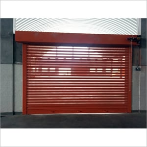 Perforated Steel Rolling Shutter