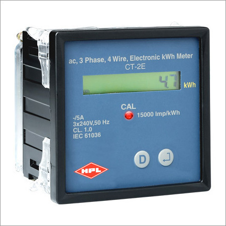 HPL CT2E PANEL MOUNTED ENERGY METER