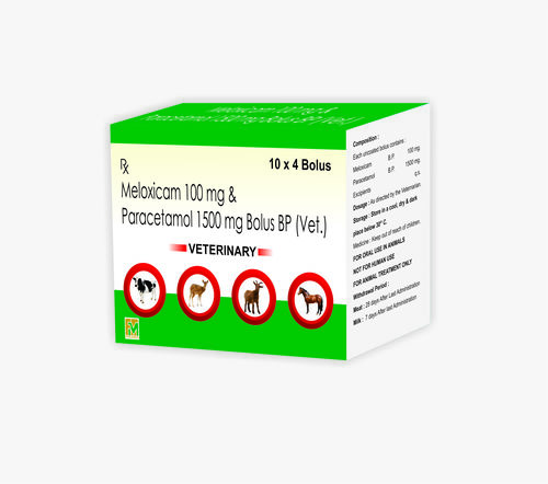 Veterinary Meloxicam  and Paracetamol Bolus