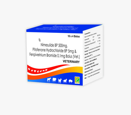 Veterinary Nimesulide and Pitofenone fenpiverinium