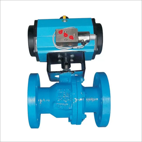 Cast Steel Ball Valve with Actuator
