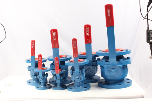 CI Two Piece Flanged Ball Valve