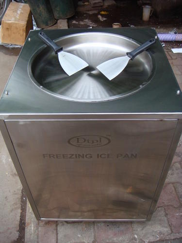 Freezing Ice Pan Machine Customize