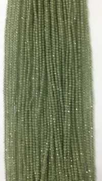 Green Apatite Micron Faceted