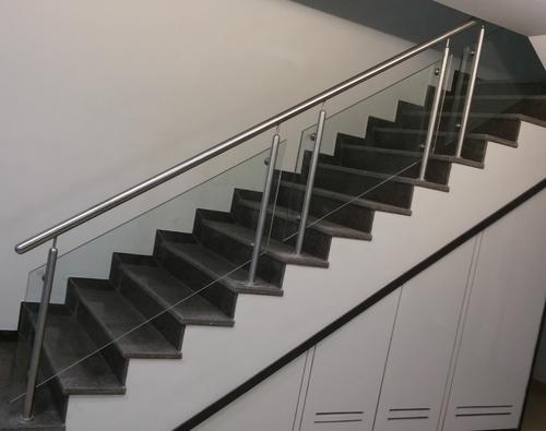 Stair Glass Railings