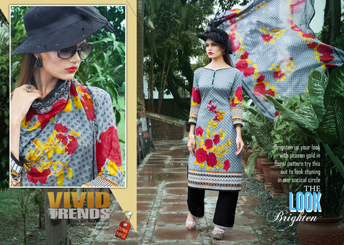 Pakistani Karachi Cotton Salwar Suits Jetpur
