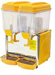 Juice Dispenser Double Woth Cooling