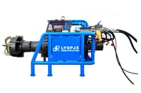 Hydraulic Internal Expanding Pipe Facing Machine